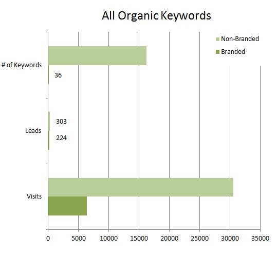 All Organic Keywords