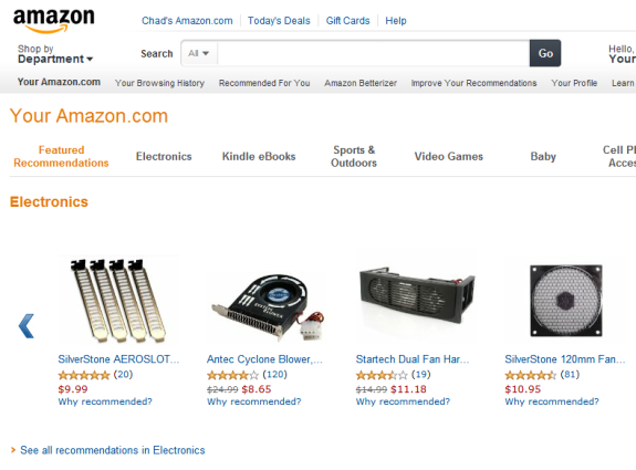 Amazons Dynamic Onpage Nurturing