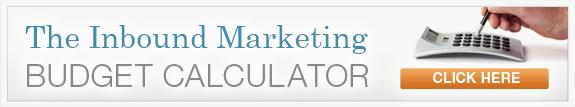 Inbound Marketing Budget Calculator