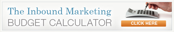 Inbound Marketing Budget Calculator