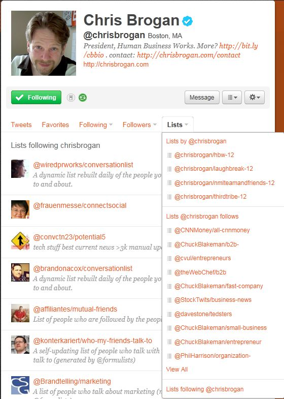 build your social media influence with twitter lists