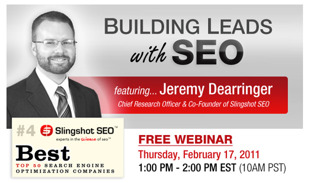 Inbound Marketing Webinar Series: Building Leads with SEO
