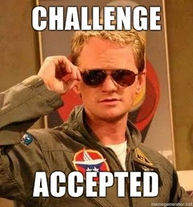 challenge accepted how i met your mother