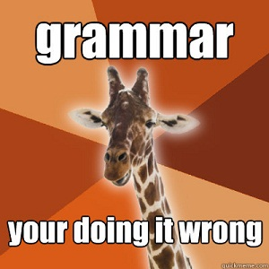 content marketing grammar guide