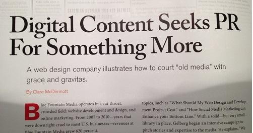 The Headline Switcheroo: Print versus Online Content Marketing