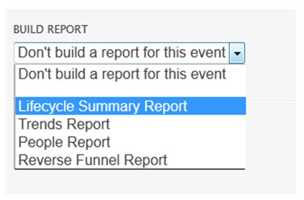 creating an event
