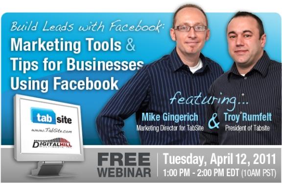 Inbound Marketing Webinar Series: Building Leads with Facebook