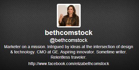 ge beth comstock