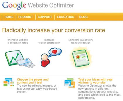 Using Google Website Optimizer with HubSpot