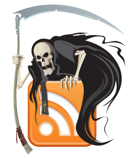 The Death of the Feed Reader – Inbound Marketing Syndicators Beware