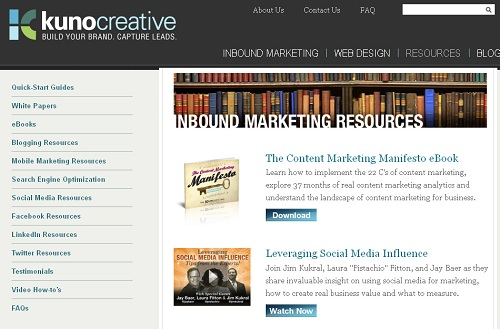 How to Use the HubSpot Blog as a Resources Download Module