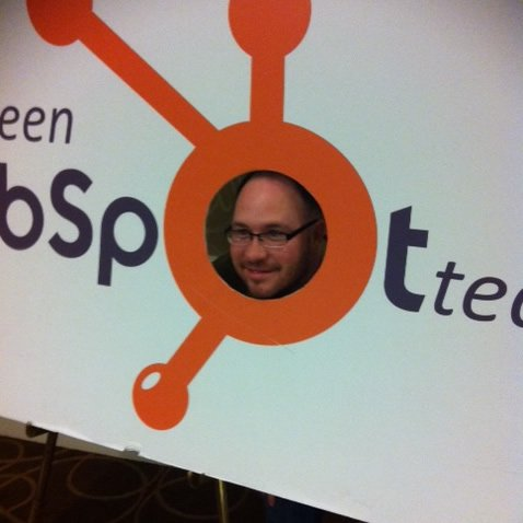 inbound marketer at the hubspot hugs 2011