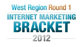 The Internet Marketing Field of 64 Tourney – Round 1 West Region