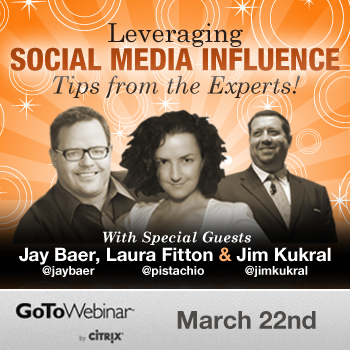 Social Media Influence Panel with Jim Kukral, Laura Fitton & Jay Baer