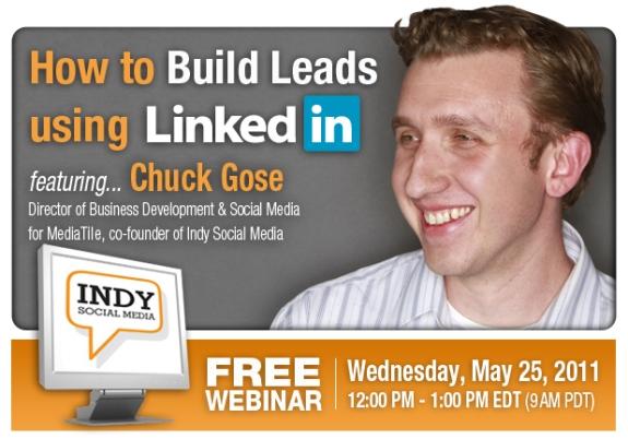 Inbound Marketing Webinar Series: Building Leads with LinkedIn