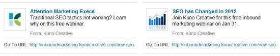 LinkedIn Ad Testing