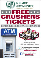 Print Ad for free baseball tickets