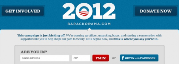 Obama 2012 Presidential Bid Begins With Social Media Blitz