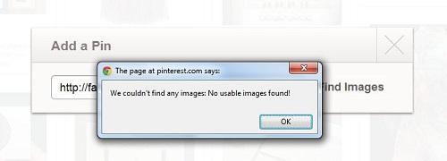 pinterest photo not found