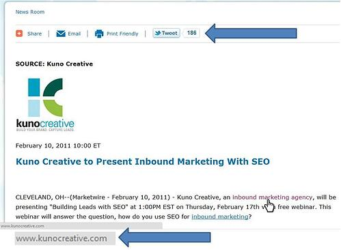 SEO with Press Releases