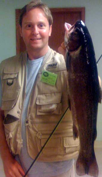 Kuno Creative President, Chris Knipper Trout Fishing