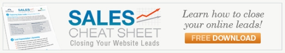 Sales Cheat Sheet for Inbound Leads