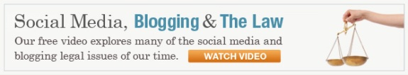 Watch Social Media, Blogging & The Law