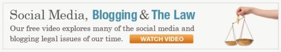 Watch Social Media, Blogging & The Law