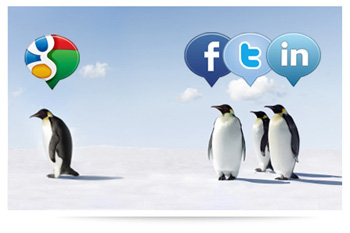 Social Media Penguins