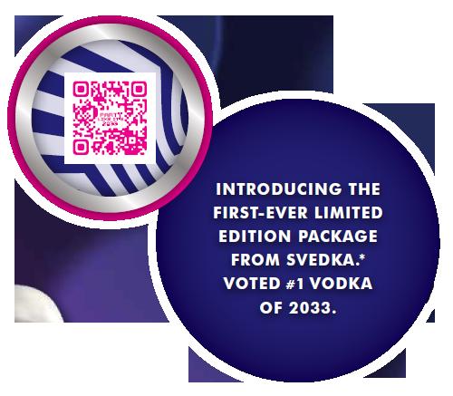 Svedka QR Code Campaign