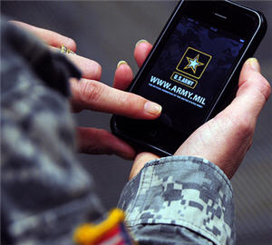 the army chose to build an iphone app
