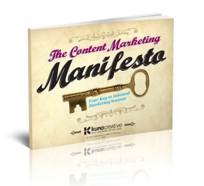 The Content Marketing Manifesto Ebook med