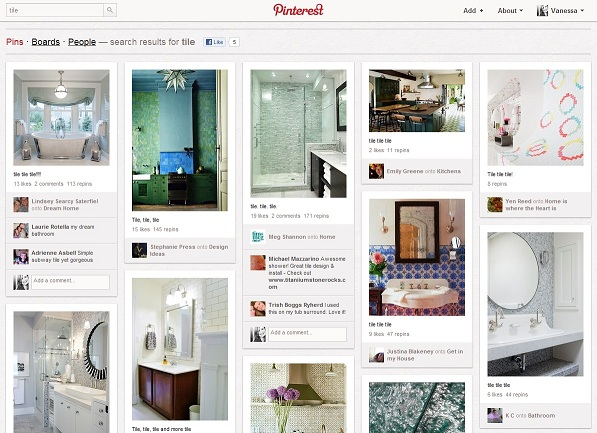 Tile Installer B2C Marketing on Pinterest