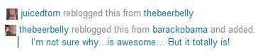tumblr reblogging