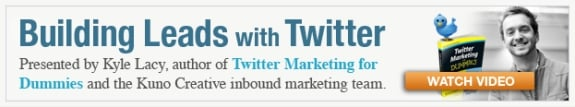 Learn How to Make Twitter an Important Part of Your Inbound Marketing Mix