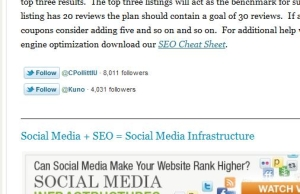 1 Obvious/Overlooked Way to Grow a Twitter Following with Blog Posts