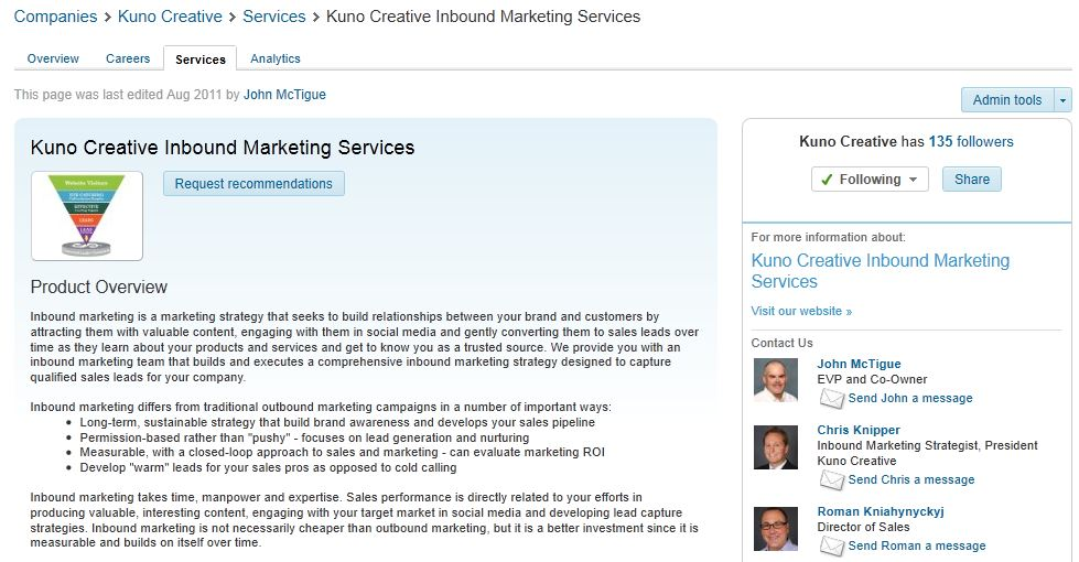 Generate Qualified Sales Leads With Your LinkedIn Company Page