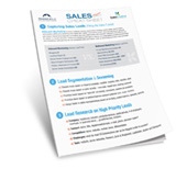 A Checklist for Converting More Sales Leads to Customers