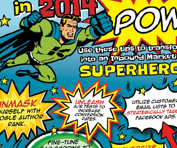 Become an Inbound Marketing Superhero with this Infographic