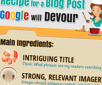 Preview Recipes for a Blog Post Infographic