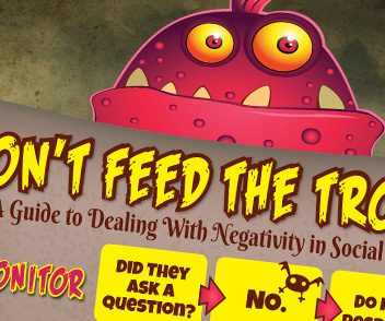 Preview the Dont Feed the Trolls Infographic
