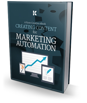 Download the Creating Content for Marketing Automation eBook