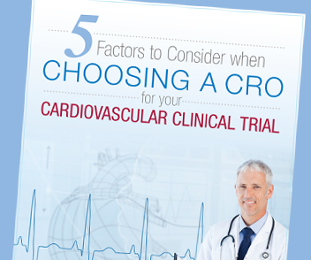 Preview eBook 5 Factors to Consider when Choosing a CRO for your Cardiovascular Clinical Trial - Kuno Creative