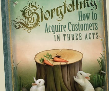 Preview eBook Storytelling How To Acquire Customers in three Acts - Kuno Creative