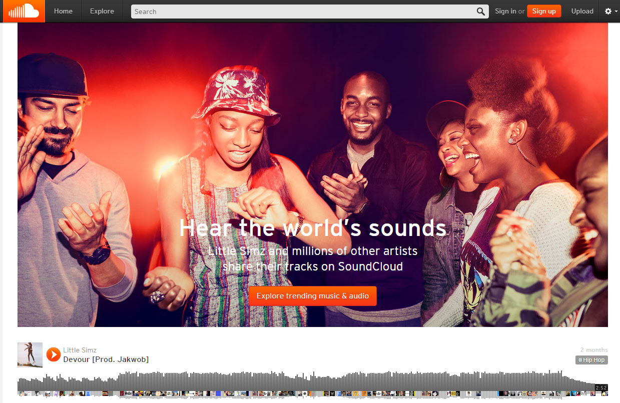 Soundcloud vs. Spotify: Social Music and Content Marketing