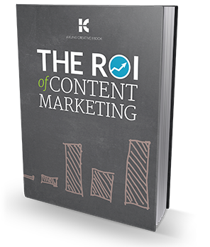 Content Marketing ROI eBook