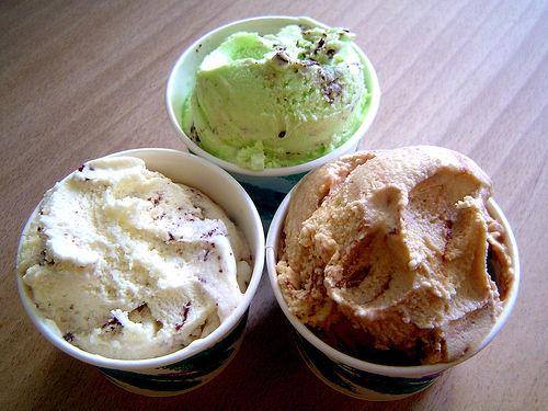 ice cream choices