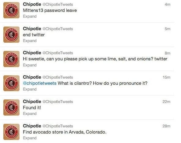 chipotle tweets