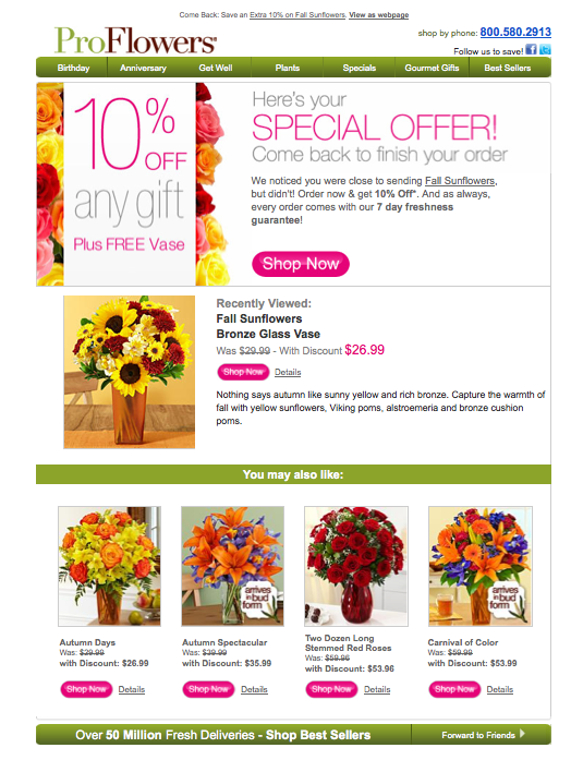 ProFlowers Email