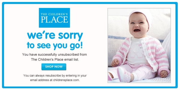 Unsubscribe Screenshot The Childrens Place resized 600